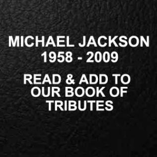 Michael Jackson: Book of Tributes on @bluesandsoul.com