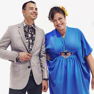 Lance Ferguson & Kylie Auldist (The Bamboos) @bluesandsoul.com