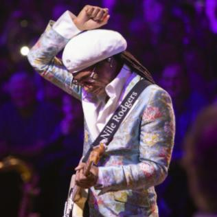 Nile Rodgers & CHIC: Heritage Live, Hampstead Heath, London 12/6/20 @bluesandsoul.com