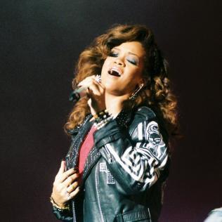 Rihanna: V Festival, Weston Park, Staffordshire 20/08/11