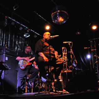 Fred Wesley - 22 The Venue, London 2/7/12 @bluesandsoul.com