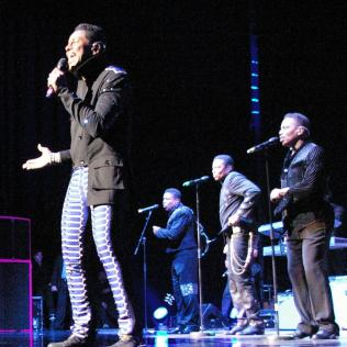 The Jacksons live 2013. Photo copyright: Simon Redley