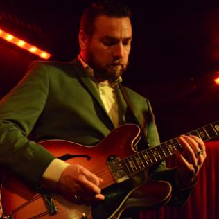 Eddie Roberts (The New Mastersounds): Borderline, London 6/11/13