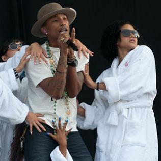 Pharrell Williams - Wireless Festival: London 4/7/14