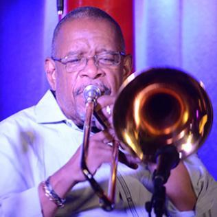 Fred Wesley: Pizza Express Jazz Club, Soho, London 22/7/14