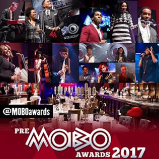 Pre-MOBO awards 2017 at Boisdale, London 21/11/17