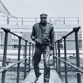 Billy Paul in the 1980s. Photo copyright: Simon Redley.