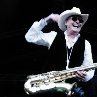 UB40's Brian Travers. Photo copyright: Simon Redley