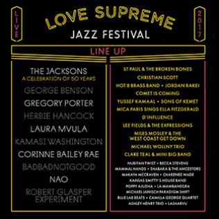 Love Supreme Festival 2017 final line-up @bluesandsoul.com