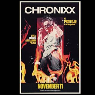 Chronixx + Protoje @Alexandra Palace 11 November 2018