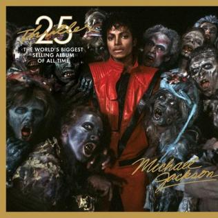 Thriller 25 Cover