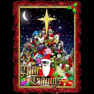 Gorrilaz Christmas giveaway
