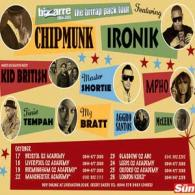 Win tickets to the 'Brrrap Pack Tour' Feat: Chipmunk, Ironik + guests.